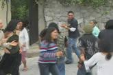 baile caraguay, jóvenes bailando
