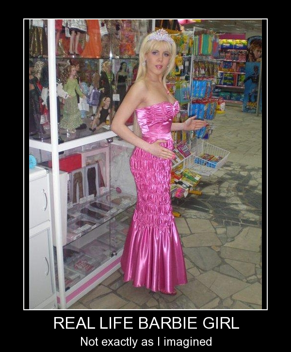 Real Life Barbie Girl #2