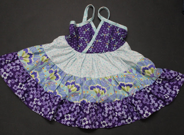 tiered dress sewing tutorial