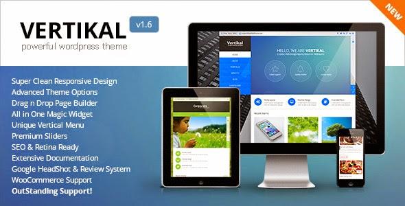 Vertikal - Responsive WordPress Theme