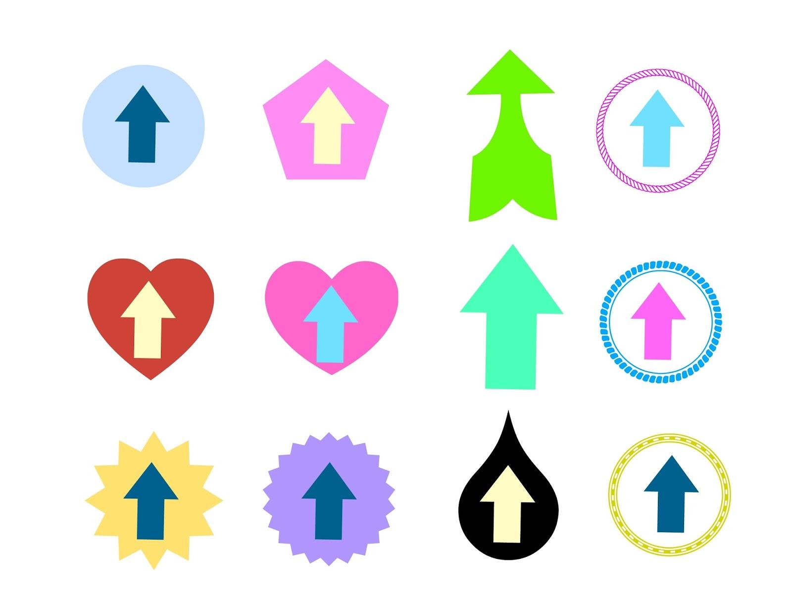 Flecha para subir arriba en un blog