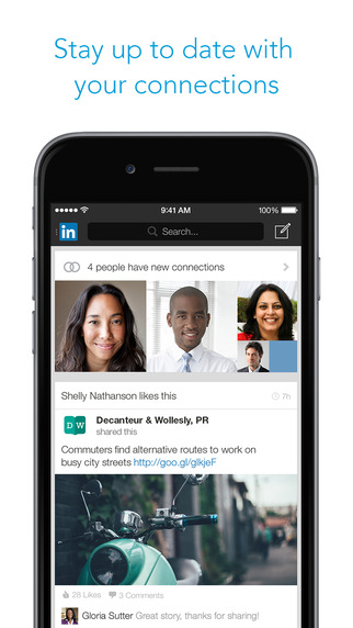 LinkedIn iOS App Review