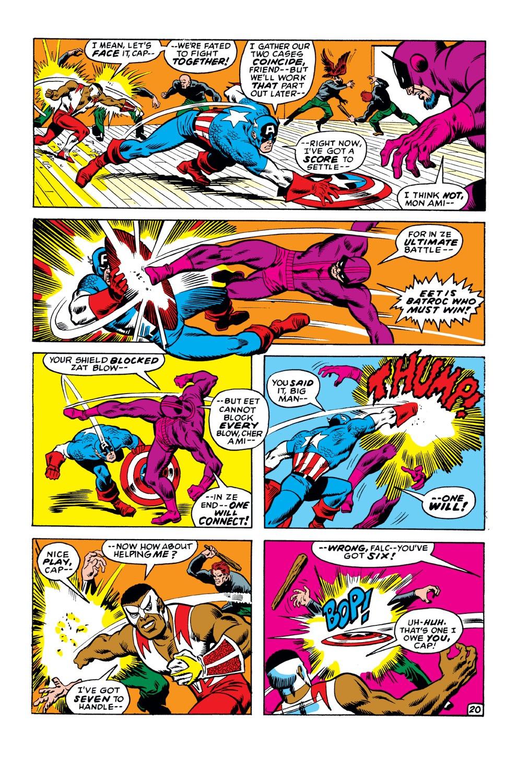 Captain America (1968) Issue #149 #63 - English 21