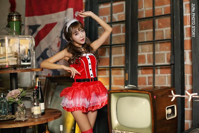 5 Jo In Young - merry christmas - very cute asian girl-girlcute4u.blogspot.com