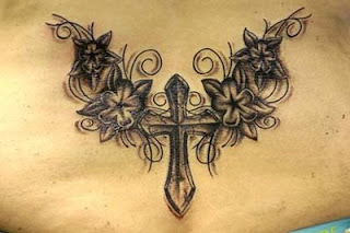 cross tattoos, tattooing