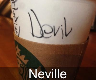 Nama-nama Salah Tulis Dari Barista Starbucks, Kocak Bin Ngakak!