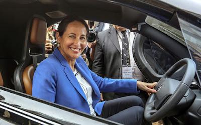 ministra de Ecología, Ségolène Royal