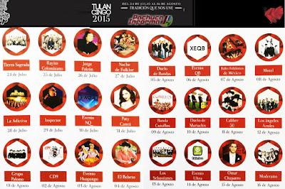 Teatro del Pueblo Expo Feria Tulancingo 2015 detalles d elos eventos