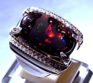 Batu Akik Kalimaya opal