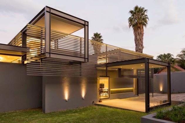 Casa minimalista en sudafrica minimalistas 2015 for Casa minimalista lujo