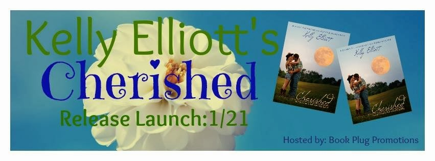 Cherished by Kelly Elliott Release Launch and Giveaway