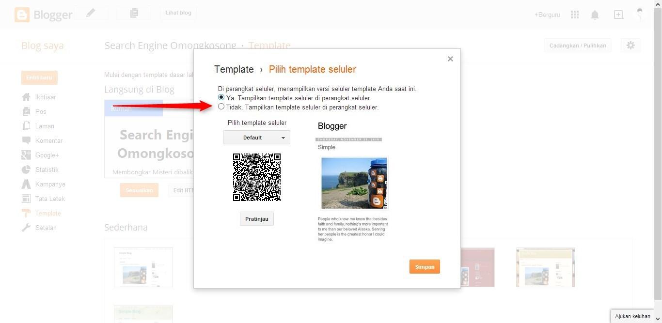 Template adalah bagian terpenting dari sebuah blog  Cara Mengganti Template Blog dengan Mudah dalam 3 Menit