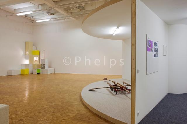 Ausstellung Manfred Pernice - Salzburg Kunstverein - Foto Andrew Phelps