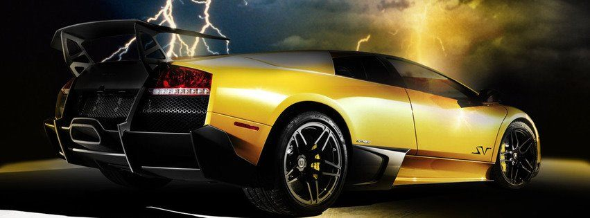 Yellow Porche facebook cover