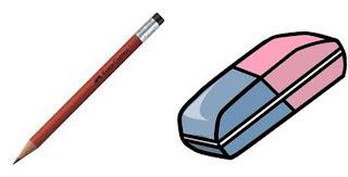 pensil vs penghapus