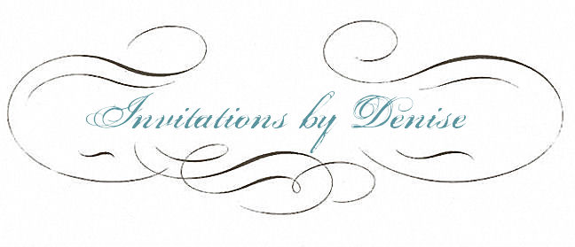 Invitations by Denise