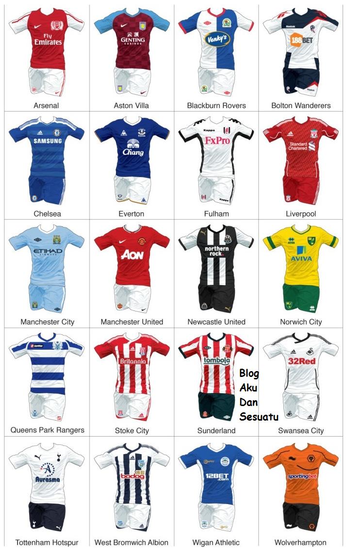 Liga Perdana Inggeris (EPL) yang digunakan musim 2011/2012 kali ini