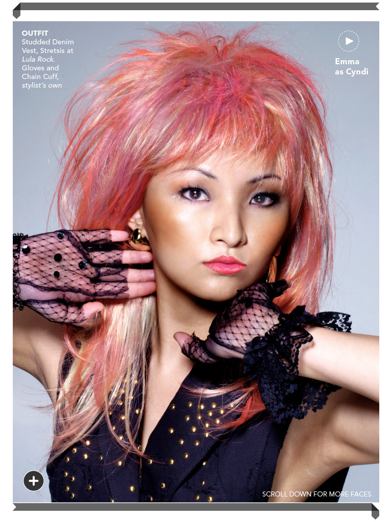 Displaying 17> Images For - Cyndi Lauper Young... Christina Aguilera