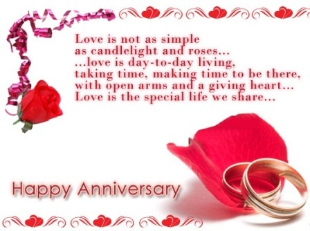 Wedding Anniversary Cards Free Download