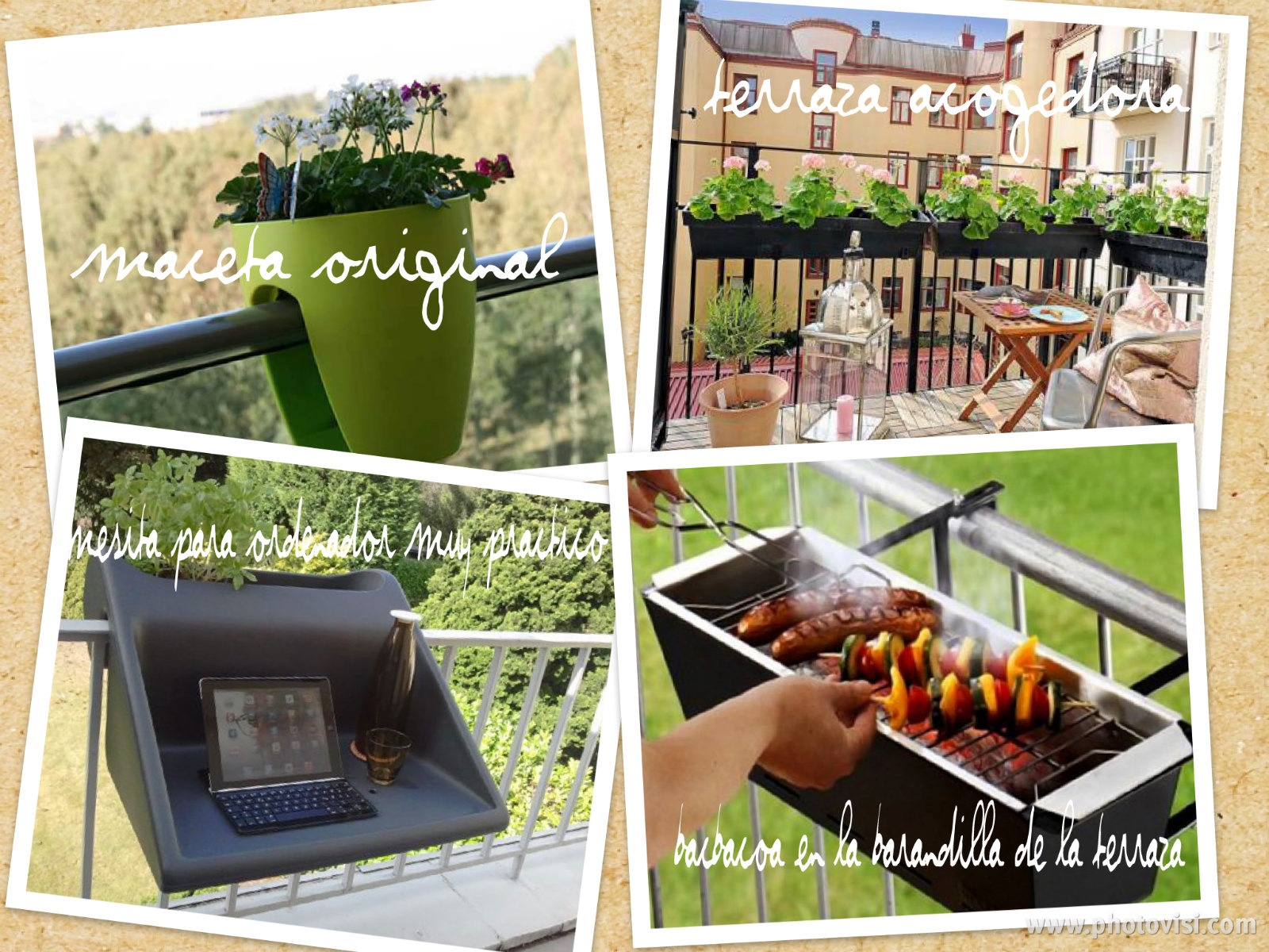 Mis nubes de ideas terraza exterior como decorar una - Decorar terrazas pequenas ...