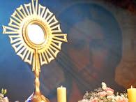 Eucaristia é o nosso tesouro