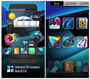Next Launcher 3D V3.0 APK FULL PATCHED