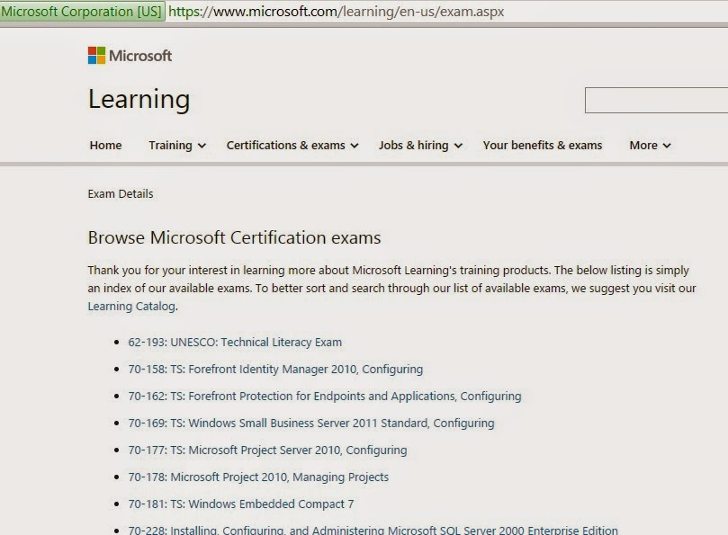Free Microsoft Certification Training Free Professional Resume