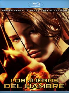 Cáratula Los Juegos del Hambre película HD 720p latino 2012