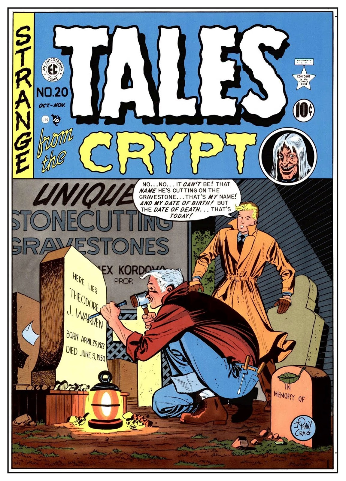 http://www.totalcomicmayhem.com/2014/08/tales-from-crypt-key-issues.html