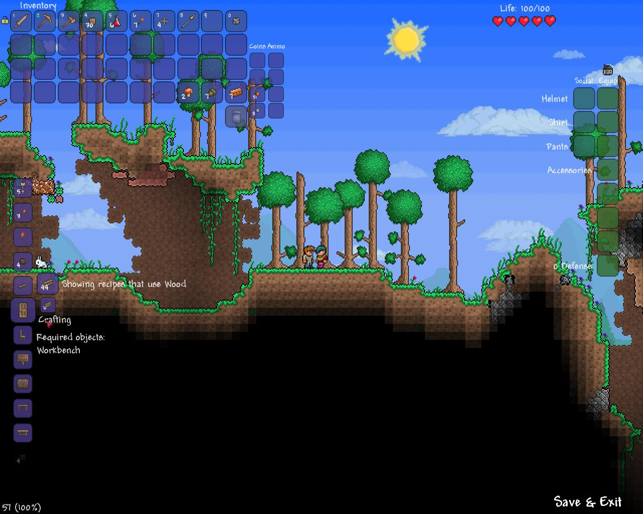 I need 6 pieces of wood and a workbench to craft a simple door  sc 1 st  tower defense - GamesWarp & buzz.GamesWarp.com » Terraria