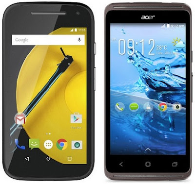 Motorola Moto E 4G vs Acer Liquid Z410 Duo