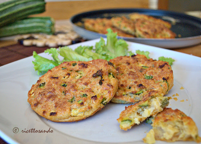 ricetta di Medaglioni di zucchine e parmigiano