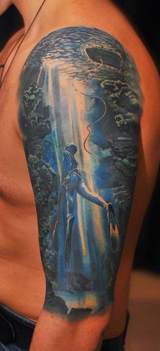 Three 3D Tattoos Ideas...