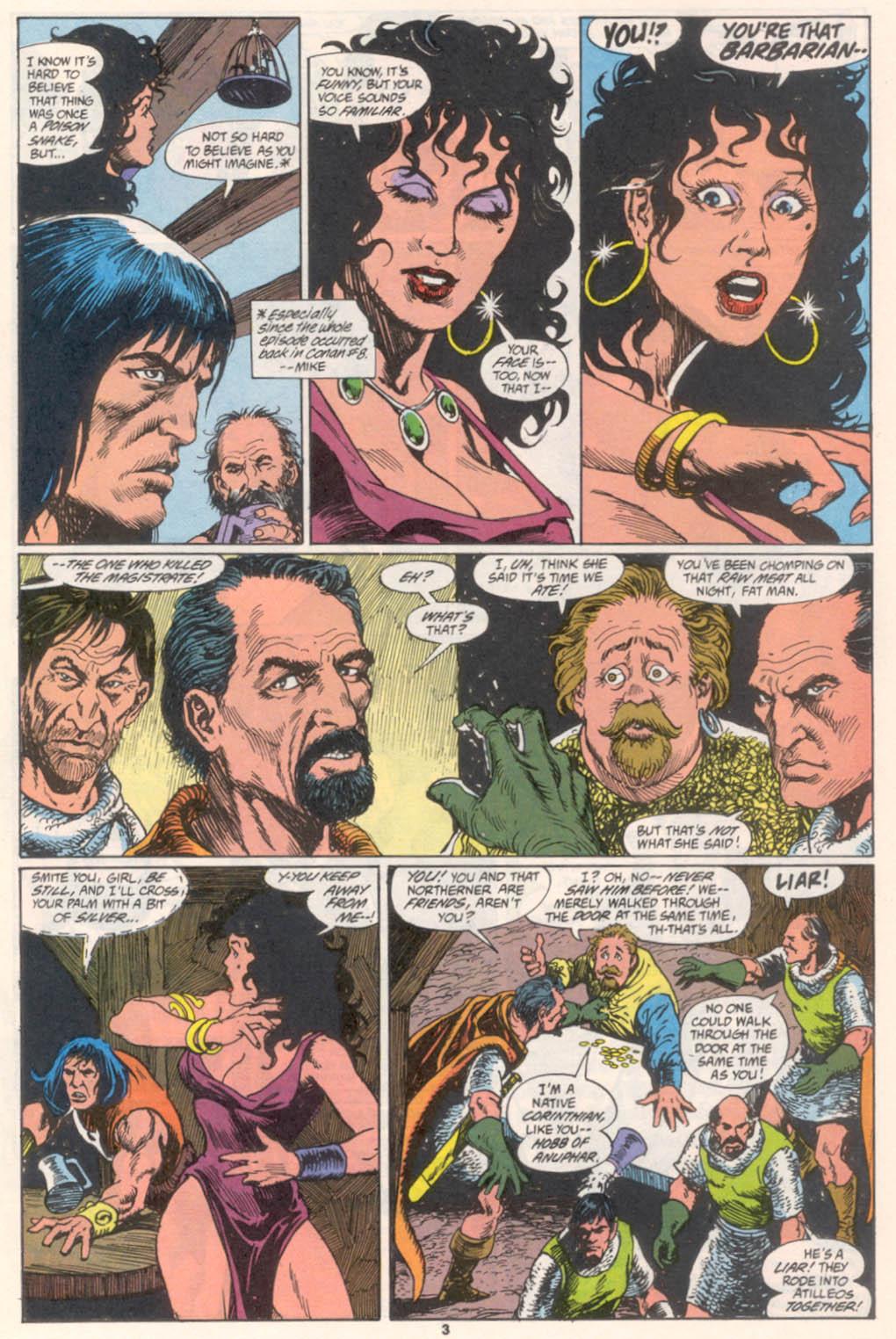 Conan the Barbarian (1970) Issue #255 #267 - English 4
