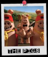 Shaun The Sheep the pigs