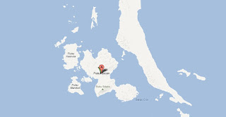 Lokasi peta daerah Batu Bacan Kasiruta Batu Maluku Utara