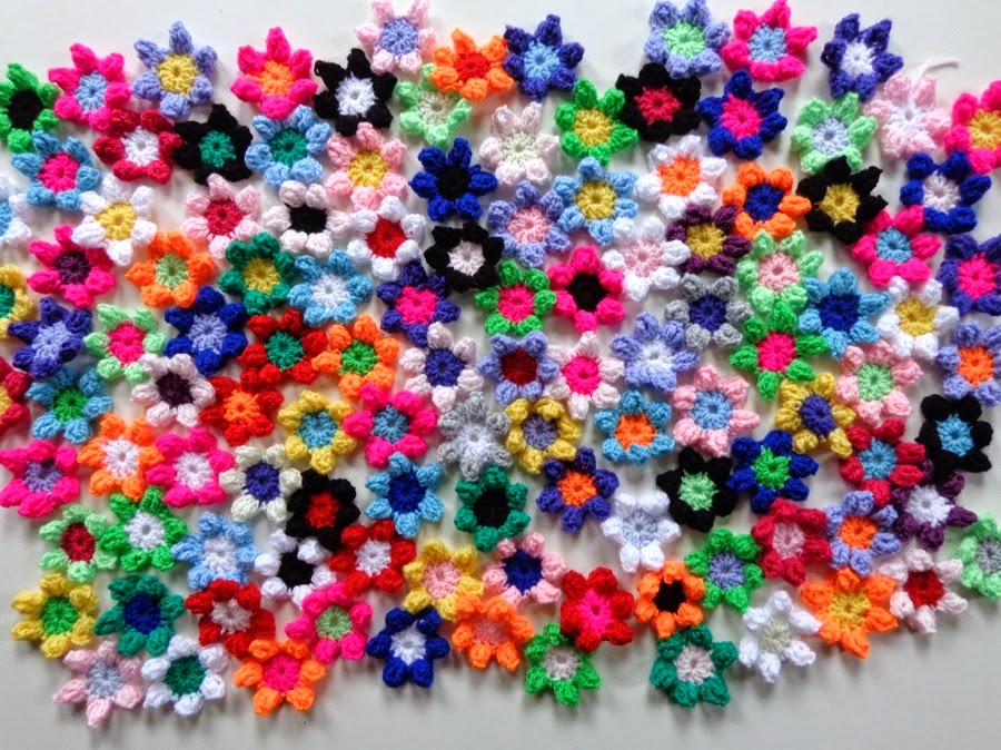 Ginginis Crafts And Quilts Bloemen Haken