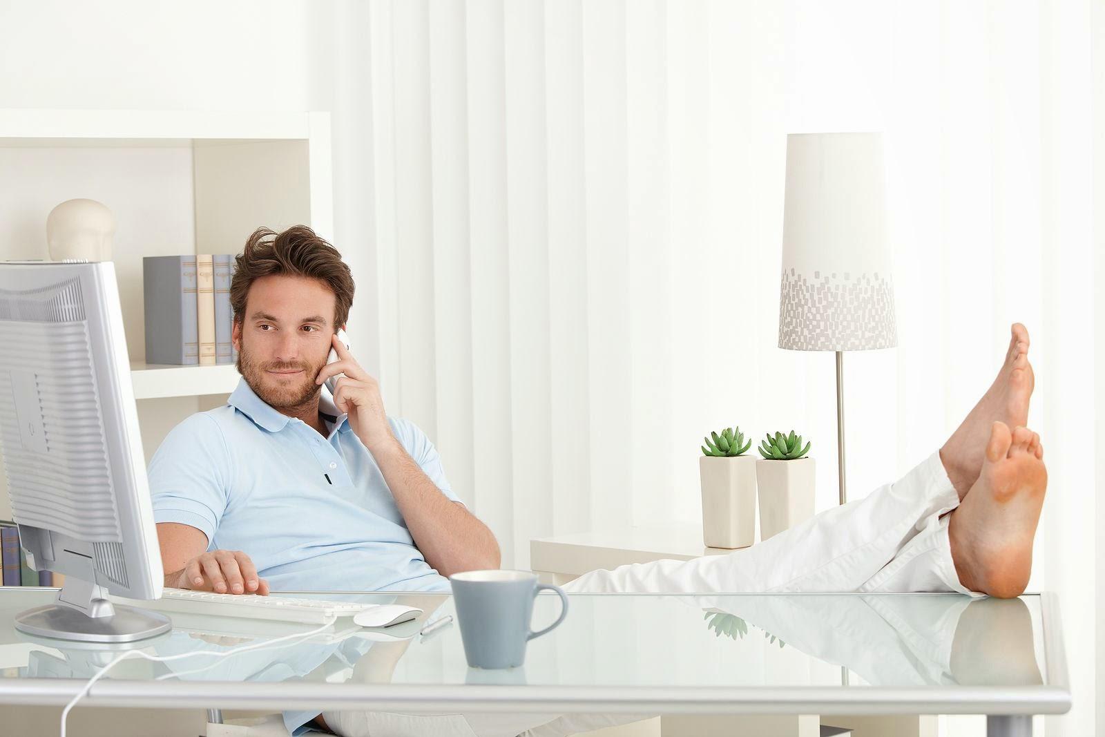 Las ventajas de trabajar desde casa