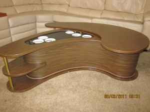 Portable Liquor Cabinet Coffee Table 100 Shrewsbury