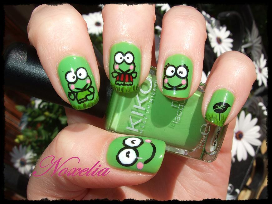 Noxelia: Stamping nail art: Reto 2013: Día 11. Look de uñas Nº 87