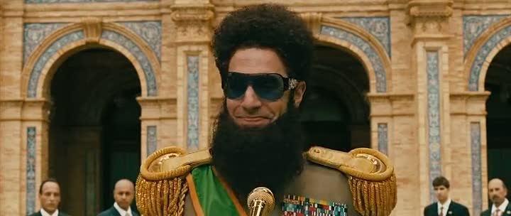 The Dictator 2012 [Dual Audio] Hindi-English