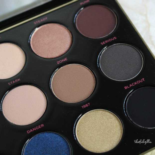 urban decay gwen stefani eyeshadow palette, review, swatch