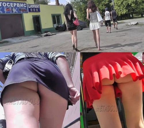 Upskirt HQ 1465-1550 (Voyeur upskirt shot in public bus)