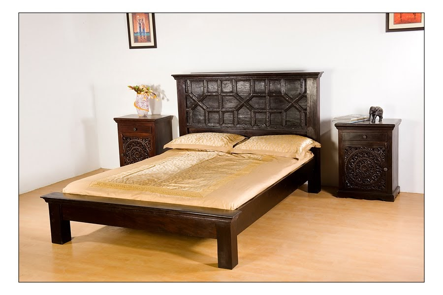 Monsoon indian old door bed reclaimed door bed for Arts and crafts daybed