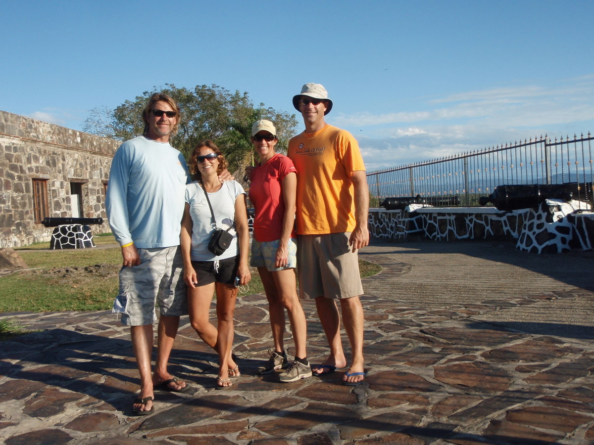 Elegant Group Photo At La Contaduria Fort With John And Tiffany Of S/v Michaela,  Kathy And Dave S/v LightSpeed. This 18th Century Spanish Fort Guarded The  Amassed ... Ideas