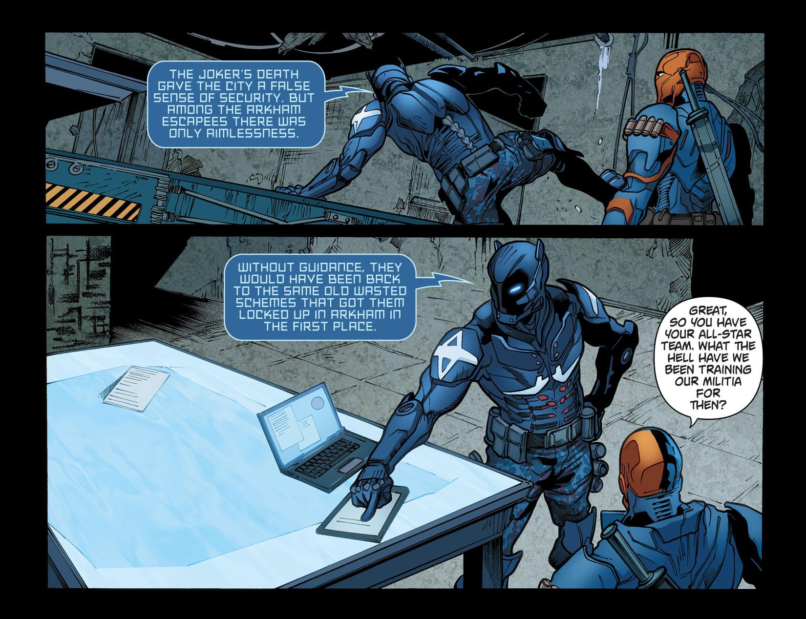 Batman: Arkham Knight [I] chap 39 pic 11