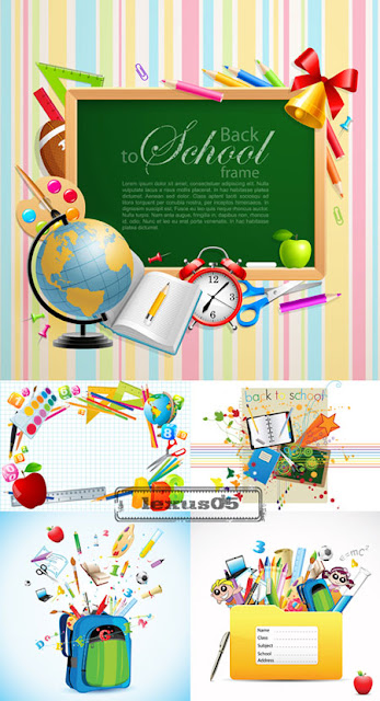 Back to School Vectors - 12