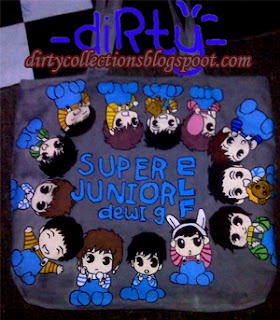 Tas Lukis Super Junior