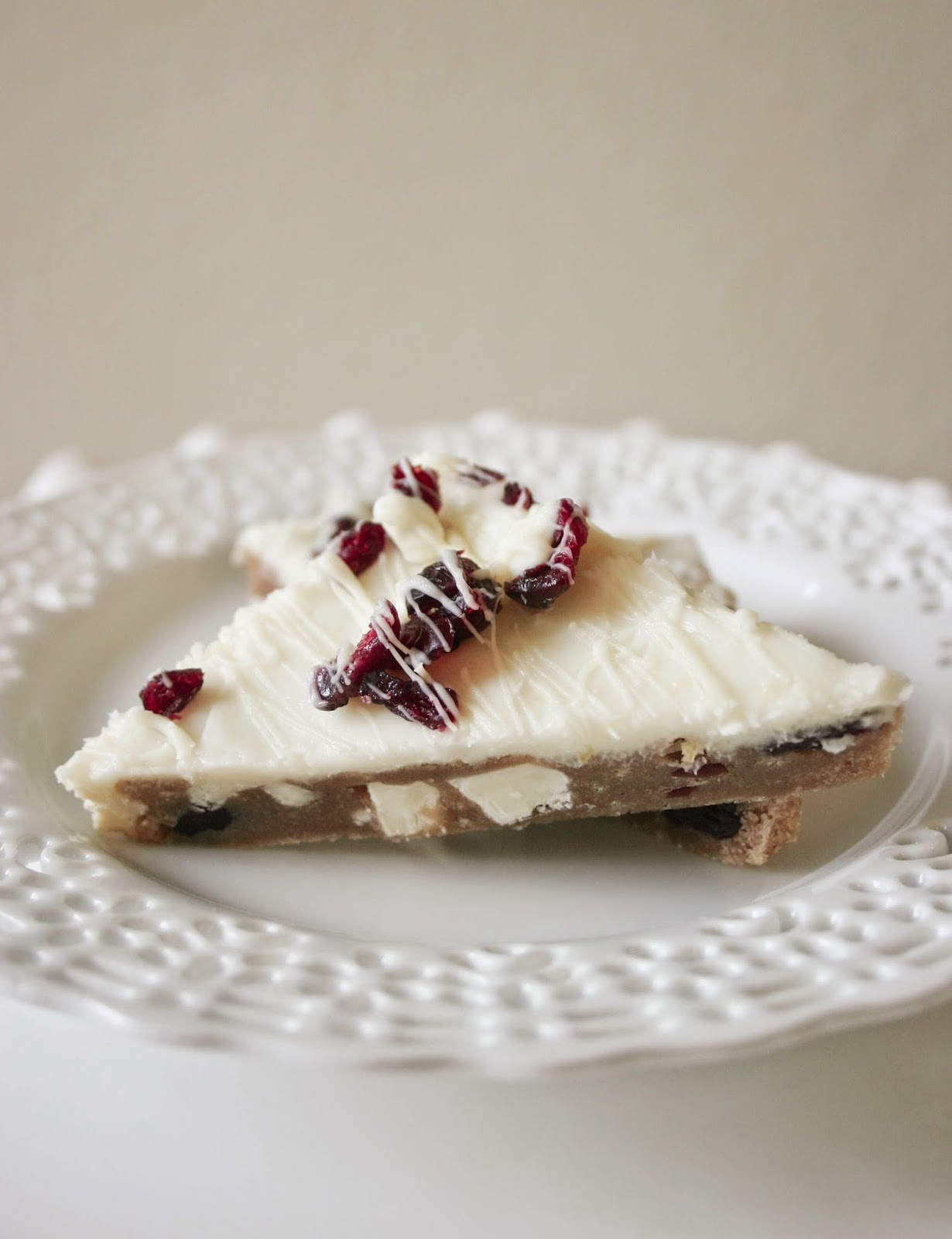 Brown Butter Cranberry Bliss Bars.