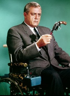 Raymond Burr as the original Ironside.